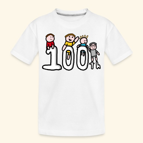 100th Video - Teenager Premium Organic T-Shirt