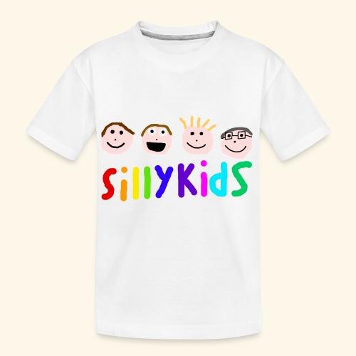 Sillykids Logo - Teenager Premium Organic T-Shirt