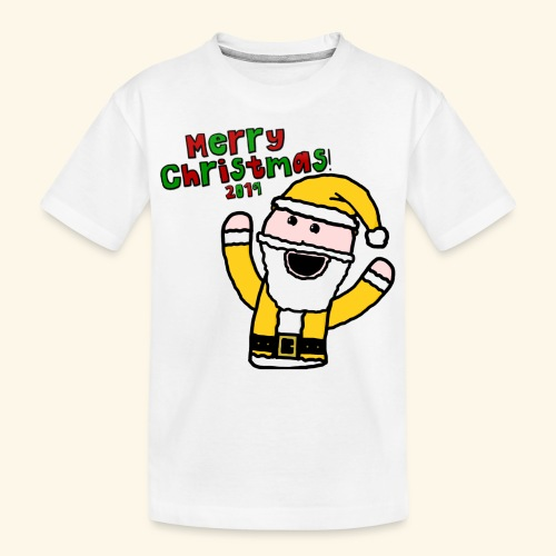 Santa Kid (Christmas 2019) - Teenager Premium Organic T-Shirt