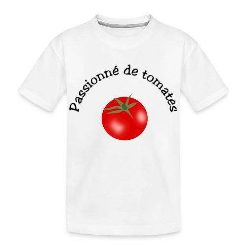 Tomate rouge - Teenager Premium Organic T-Shirt