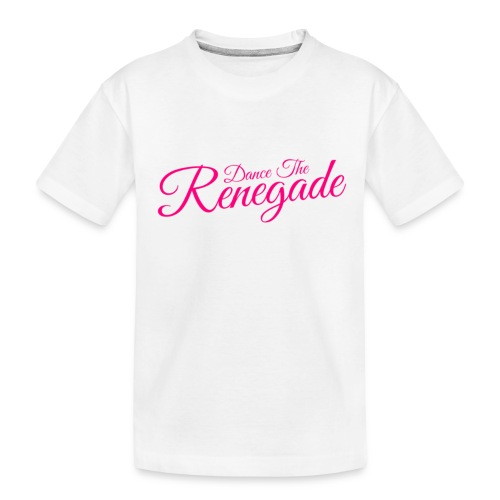 Dance the Renegade - Teenager premium biologisch T-shirt