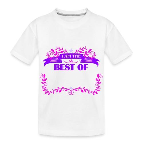 Talent Message I AM THE BEST OF Fun 3 - Teenager Premium Bio T-Shirt