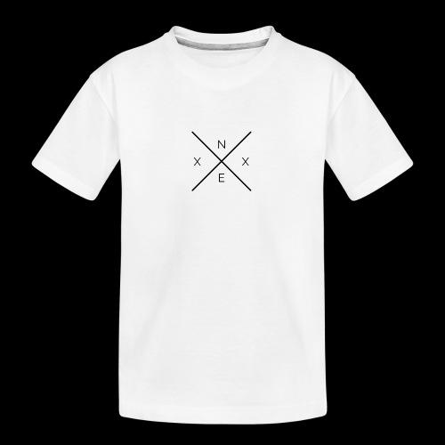 NEXX cross - Teenager premium biologisch T-shirt