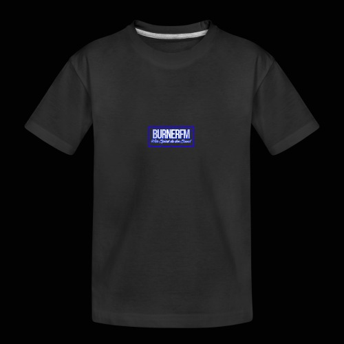 BurnerFM Hier Sürst du den Sound - Teenager Premium Bio T-Shirt