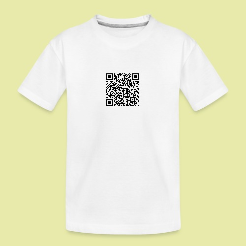 QR-Code Karslruhe Extra - Teenager Premium Bio T-Shirt