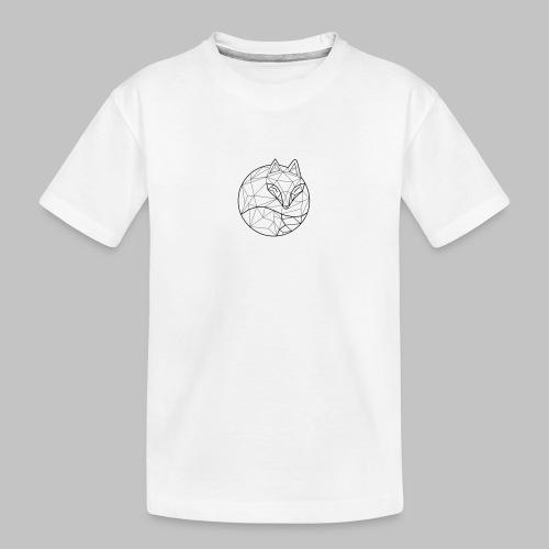 Fox Graph - Teenager Premium Organic T-Shirt