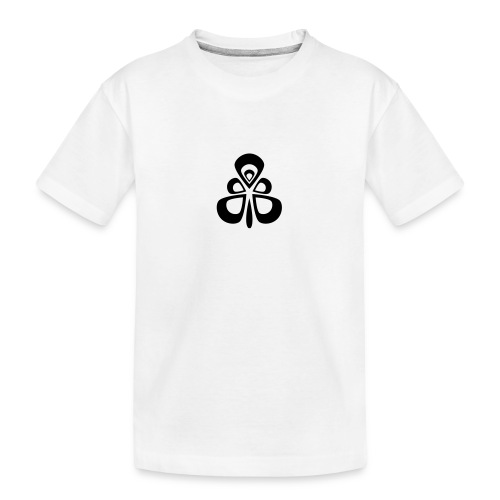 Abstract Rmx - Camiseta orgánica premium adolescente