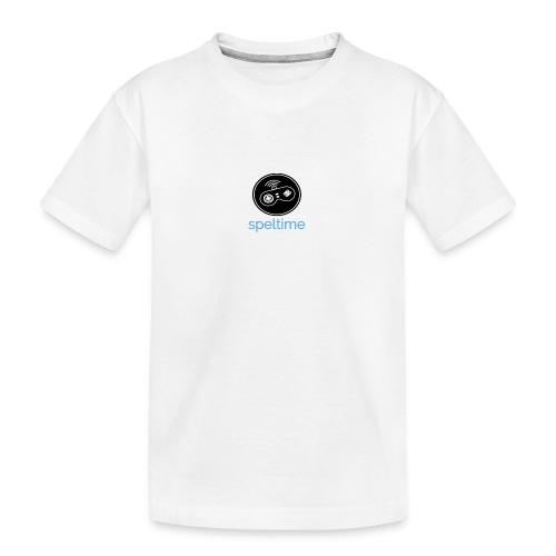 SPELTIME - Ekologisk premium-T-shirt tonåring