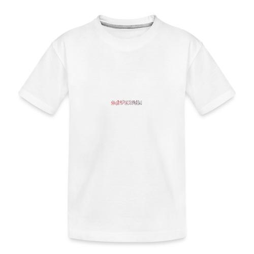 logoshirts - Teenager premium biologisch T-shirt