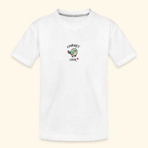 Conures' Lover: blue cinamon - T-shirt bio Premium Ado