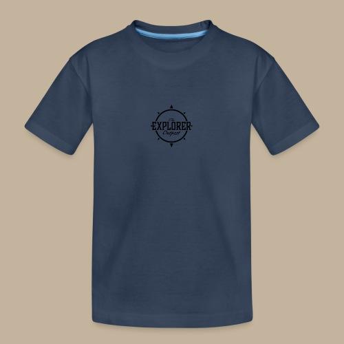 Black TEO Logo - Teenager Premium Organic T-Shirt