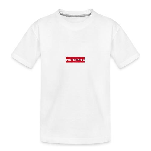 WETNIPPLE - Teenager premium biologisch T-shirt