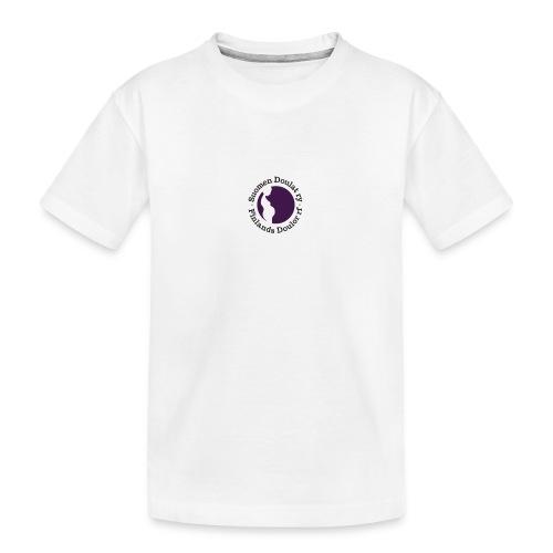 Suomen Doulat ry logo - Teinien premium luomu-t-paita