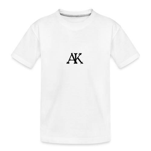 Brand logo - Teenager premium biologisch T-shirt