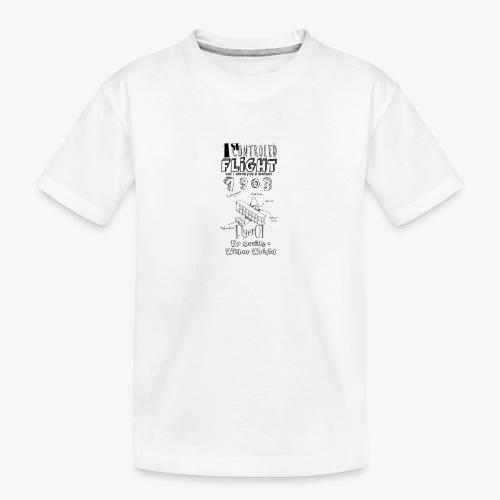 1stcontroled flight - T-shirt bio Premium Ado