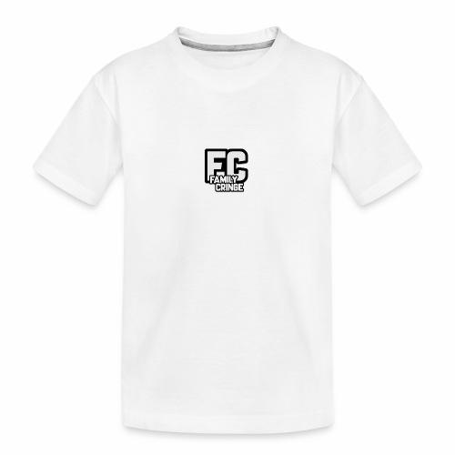 FAMILY CRINGE - Ekologisk premium-T-shirt tonåring