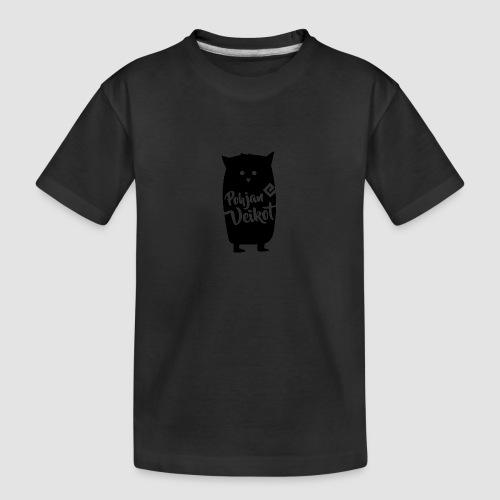 Veikko-pöllö - Teinien premium luomu-t-paita
