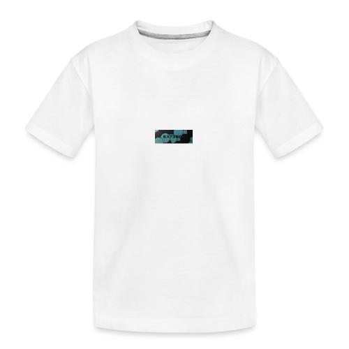 Extinct box logo - Teenager Premium Organic T-Shirt