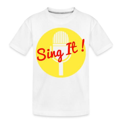 Sing it! - Teenager premium biologisch T-shirt