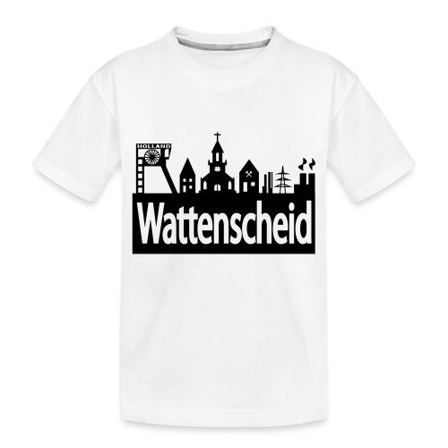 Skyline Wattenscheid - Teenager Premium Bio T-Shirt