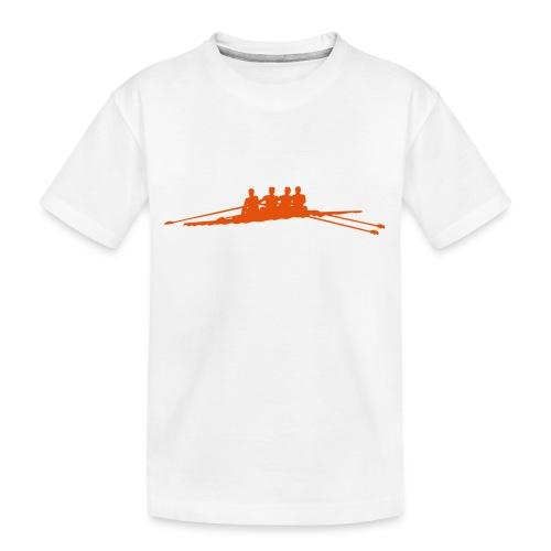Roeien 1C - Teenager premium biologisch T-shirt