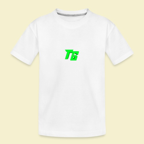 TristanGames logo merchandise - Teenager premium biologisch T-shirt