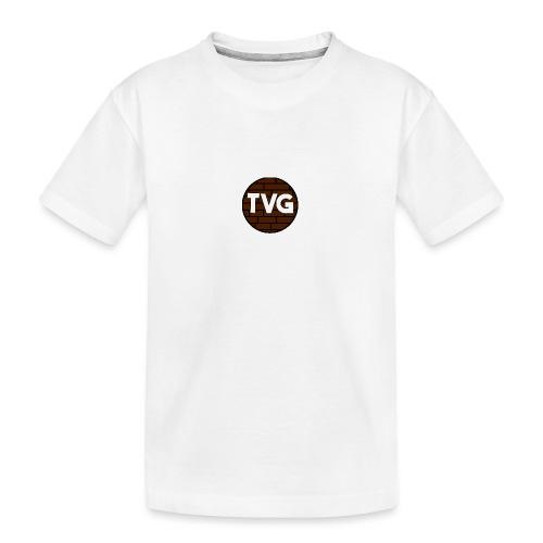 TeVeelGamers - Teenager premium biologisch T-shirt