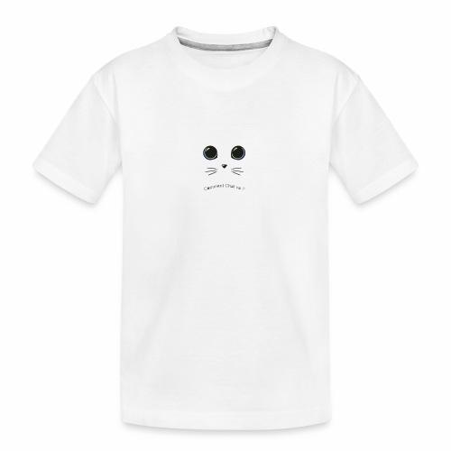 comment chat va ? - T-shirt bio Premium Ado