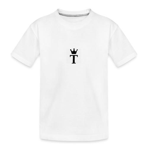King Tobias of Norway - Premium økologisk T-skjorte for tenåringer