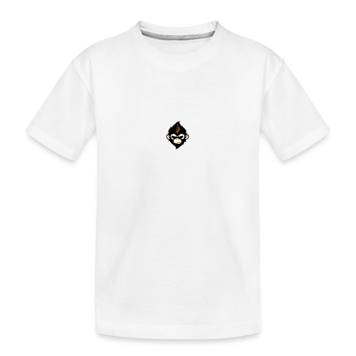 MonkieGames - Teenager premium biologisch T-shirt