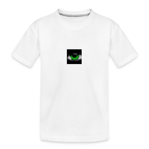 Green eye - Teenager Premium Organic T-Shirt