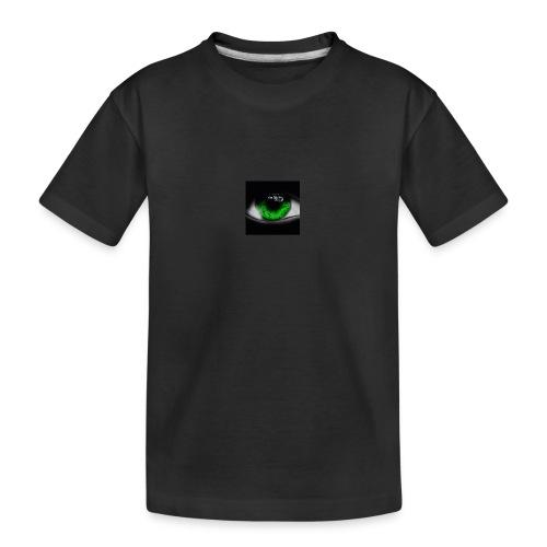 Green eye - Teenager Premium Organic T-Shirt