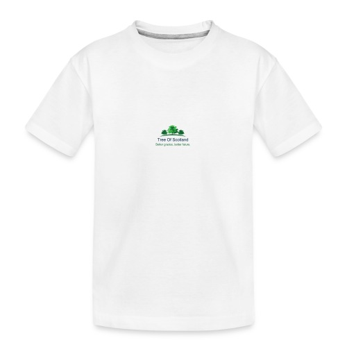 TOS logo shirt - Teenager Premium Organic T-Shirt