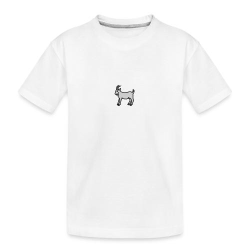 Ged T-shirt dame - Teenager premium T-shirt økologisk