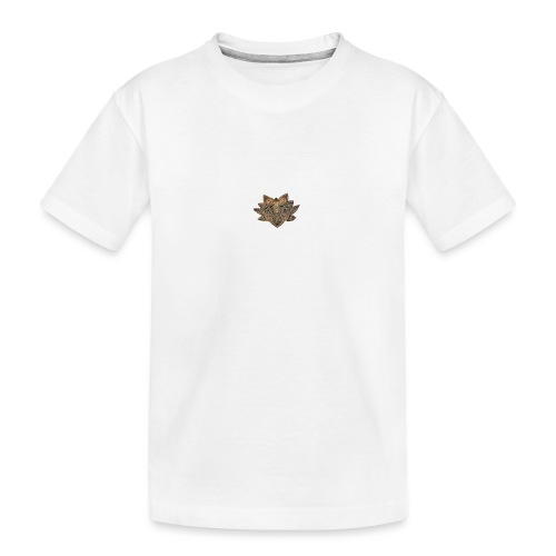 lotus - Teenager premium biologisch T-shirt