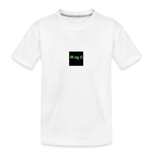 mogc - Teenager premium T-shirt økologisk