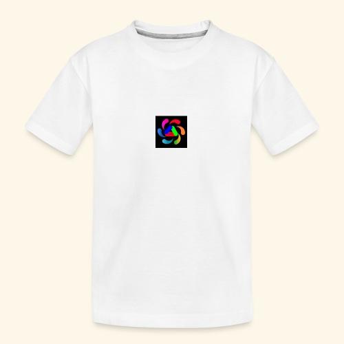 logo - Maglietta ecologica premium per ragazzi
