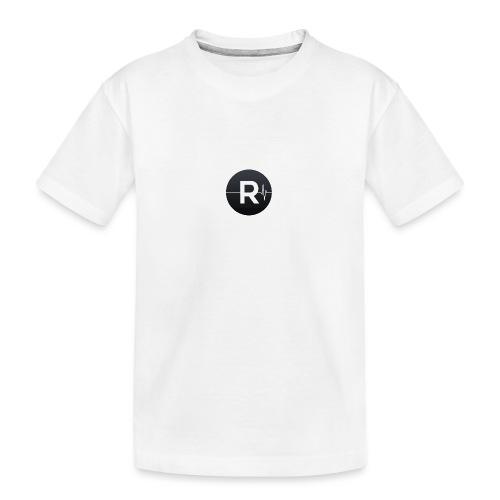 REVIVED Small R (Black Logo) - Teenager Premium Organic T-Shirt