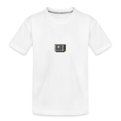 la télé - T-shirt bio Premium Ado