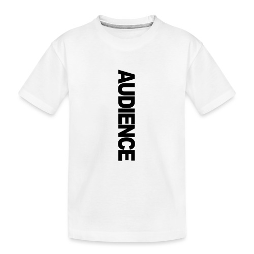 audienceiphonevertical - Teenager Premium Organic T-Shirt