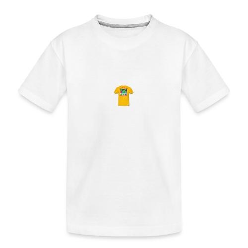 Castle design - Teenager premium T-shirt økologisk