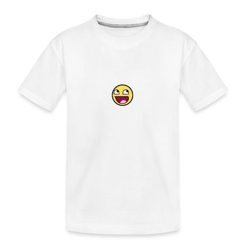 happiness t-shirt - Ekologisk premium-T-shirt tonåring