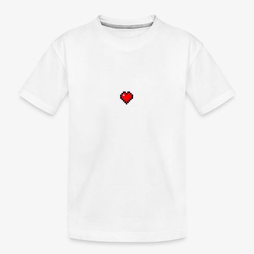 Coeur cubique - T-shirt bio Premium Ado