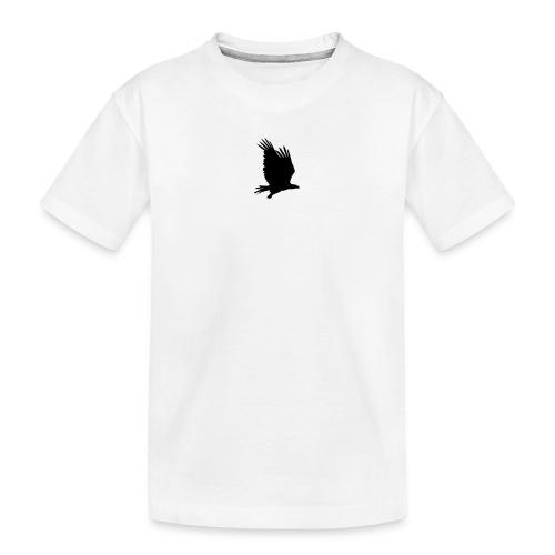 Tirolerbergluft pur (kleiner Adler) - Teenager Premium Bio T-Shirt