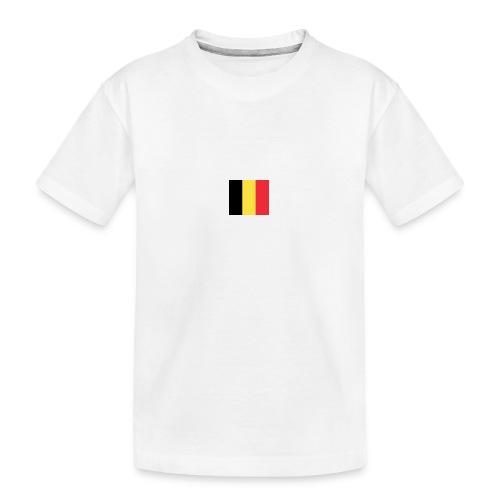 vlag be - Teenager premium biologisch T-shirt