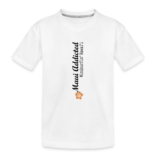 MAddLogoVert ai - Teenager Premium Organic T-Shirt