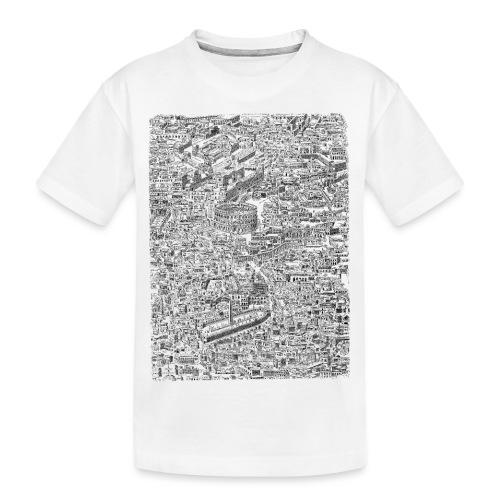 Roma - Maglietta ecologica premium per ragazzi