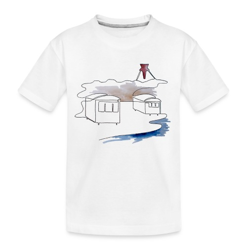 Blokhus 1 - Teenager premium T-shirt økologisk