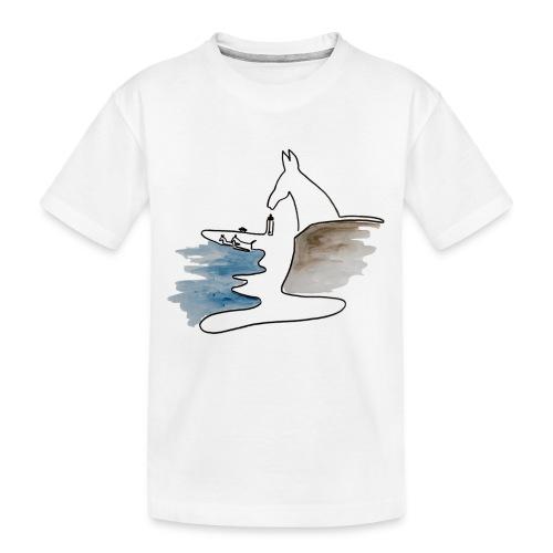 Blåvand 2 - Teenager premium T-shirt økologisk