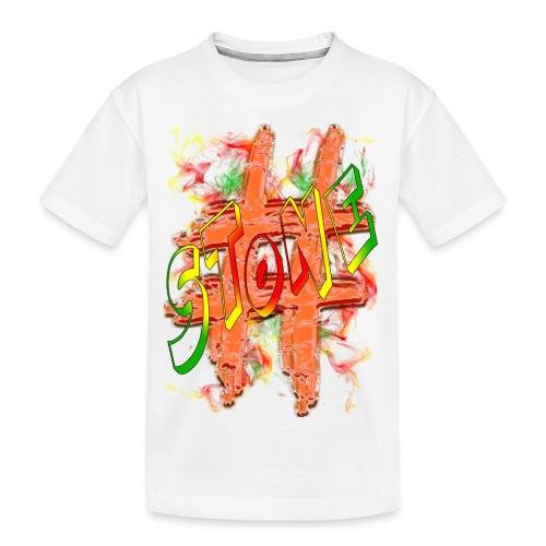 H-Tag Stone - T-shirt bio Premium Ado